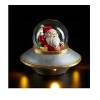 Kerstman in Ufo