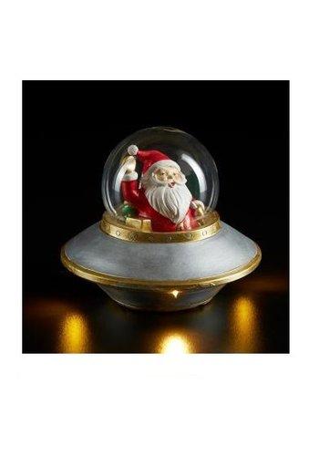 Abelia.nl Kerst Kerstman in Ufo