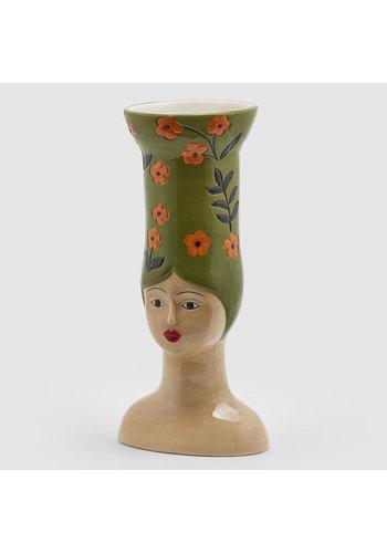 Abelia Meesterbinders Hoge hoed vaas Lang groen