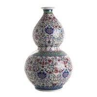 thumb-Qianlong dubbele kalebasvaas-1