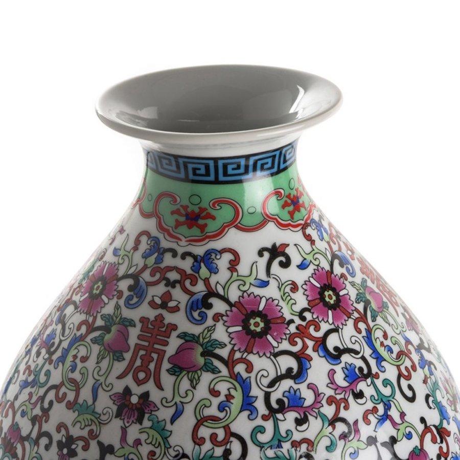 Qianlong dubbele kalebasvaas-2