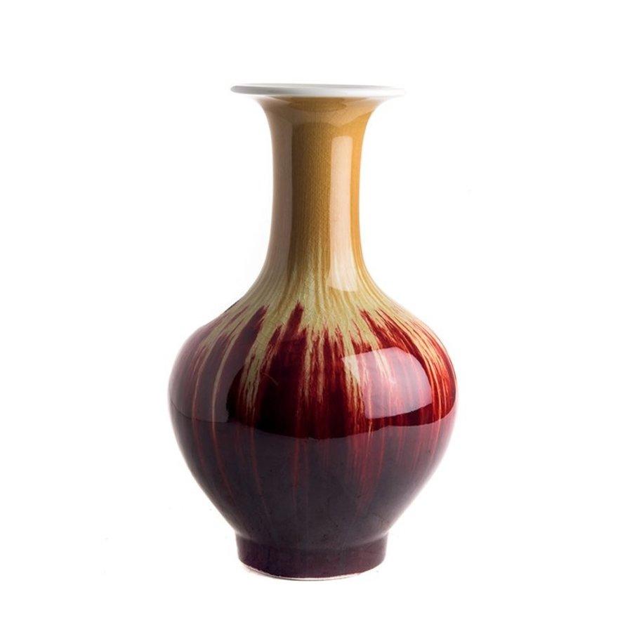 Flare vaas met runderbloed coulure-1