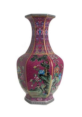 Abelia.nl Porselein Violet porseleinen vaas