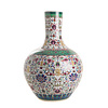 Abelia.nl Porselein Qianlong familie vaas met rechte hals