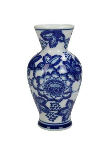 Abelia.nl Porselein Vase Blue | Delftsblauw vaasjes