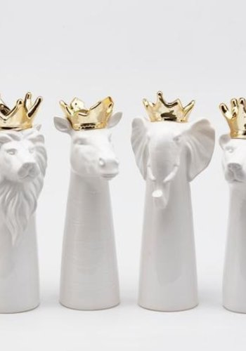 Koningsvazen dierenhoofd