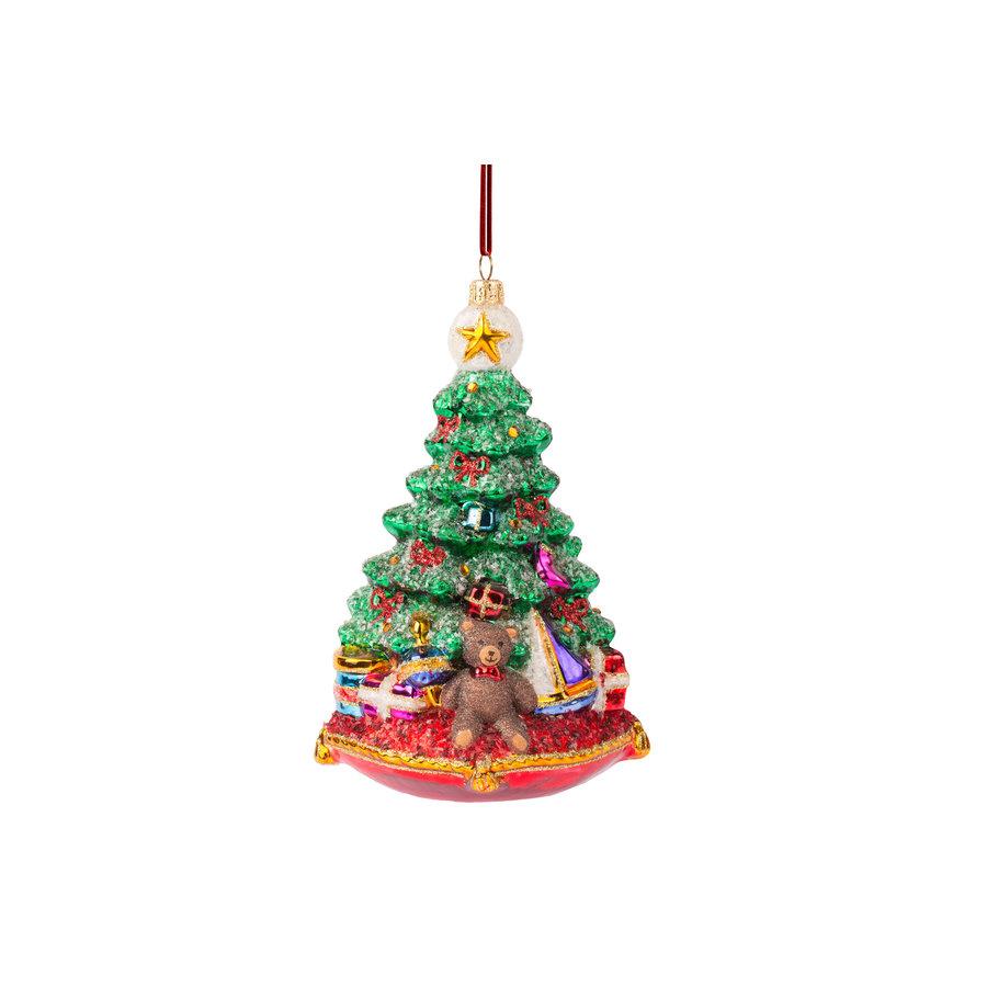 Kerstboom op kussen-2
