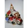 Abelia.nl Kerst Kerstman op motor