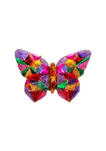 Abelia.nl Kerst Vlinder kleurig