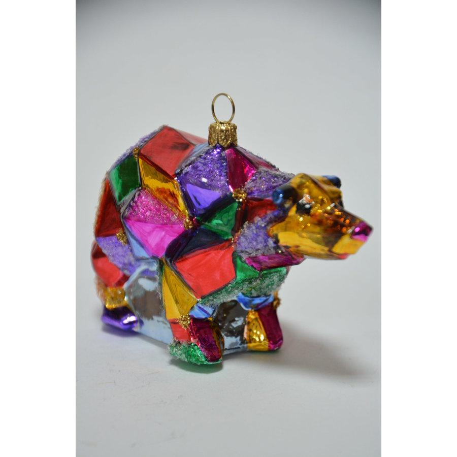 Kerstbeer kleurig-1
