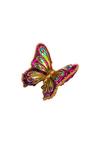 Abelia.nl Kerst Kerst Vlinder kleurig