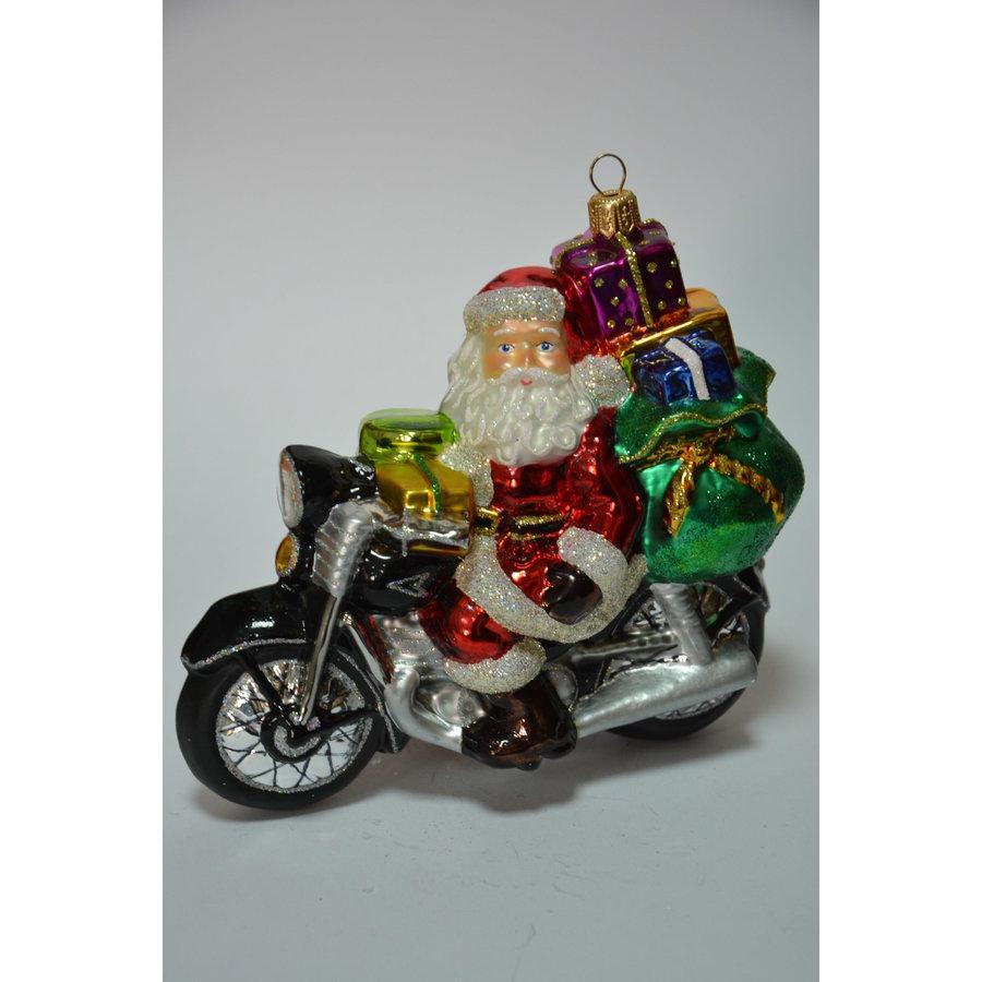 Kerstman op motorfiets-1