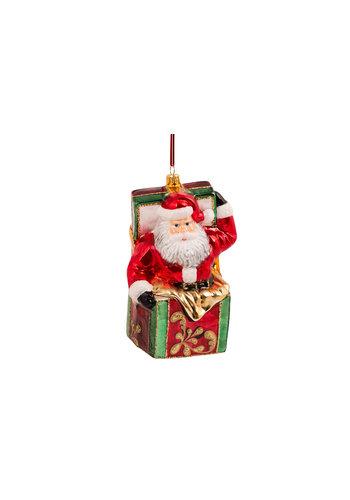 Abelia.nl Kerst Kerstman in een box