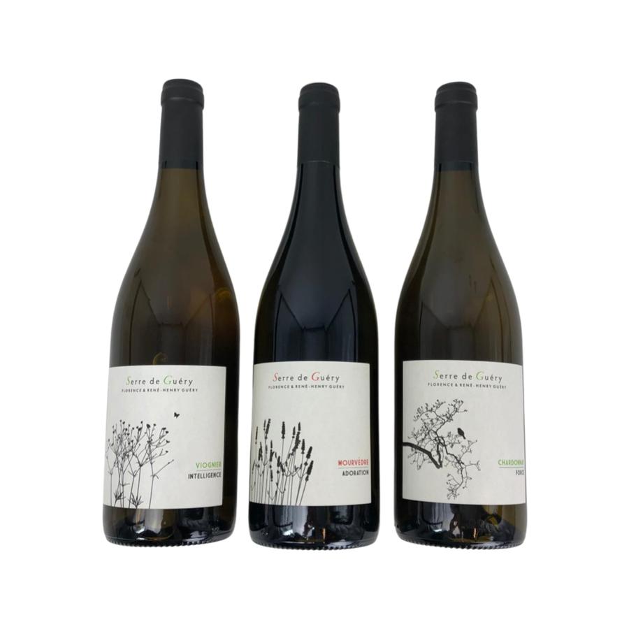 Wijngeschenk Serre de Guéry Trio-2