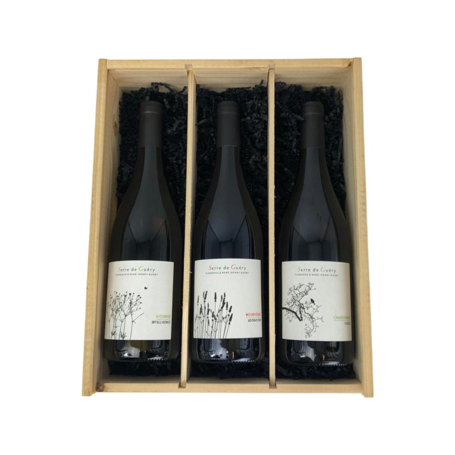 Wijngeschenk Serre de Guéry Trio-1