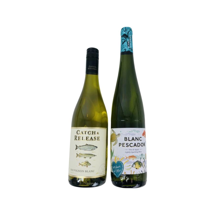 Wijngeschenk Duo van Vis wijnen-1