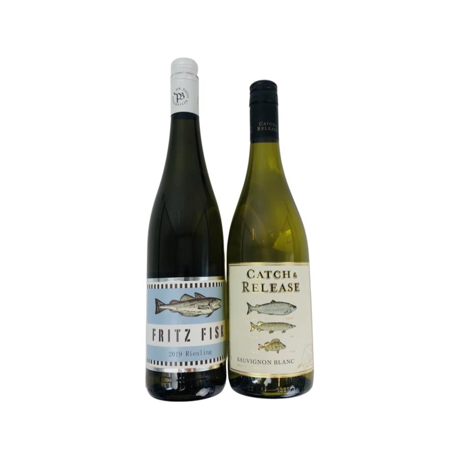 Wijngeschenk Duo van Vis wijnen-2