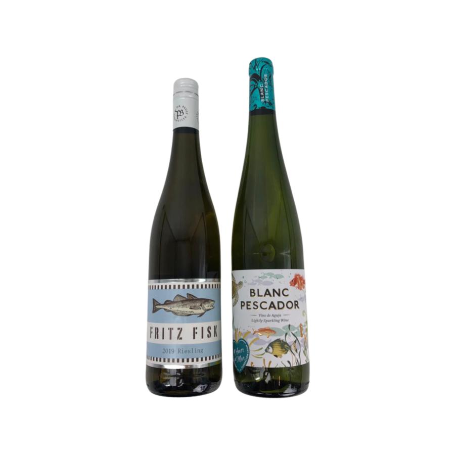 Wijngeschenk Duo van Vis wijnen-3
