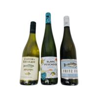 Wijngeschenk Trio van Vis wijnen