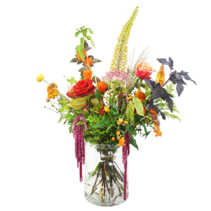 Herfst bloemen boeket-1