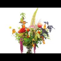 thumb-Herfst bloemen boeket-2