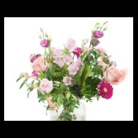thumb-Pastelkleurig bloemen boeket | Bestel je bij Abelia.nl IJmuiden-2