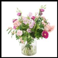 thumb-Pastelkleurig bloemen boeket | Bestel je bij Abelia.nl IJmuiden-1