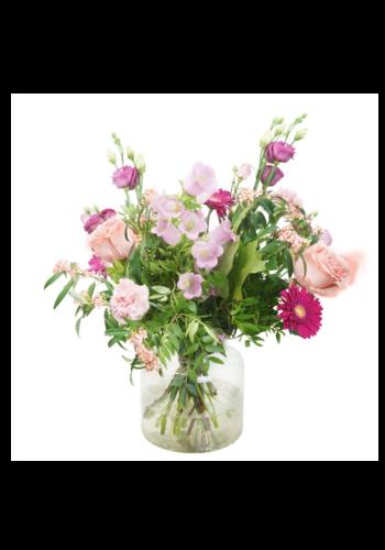 Abelia Meesterbinders Pastelkleurig bloemen boeket