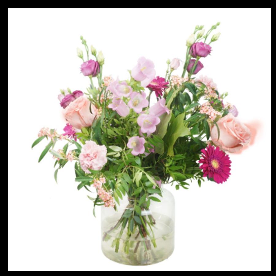 Pastelkleurig bloemen boeket | Bestel je bij Abelia.nl IJmuiden-1