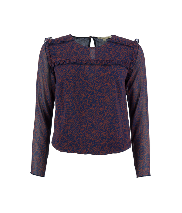 Four Roses Blouse with fringes