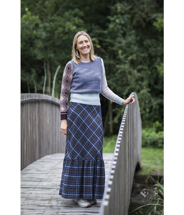 Just In Case Long skirt Ada marine