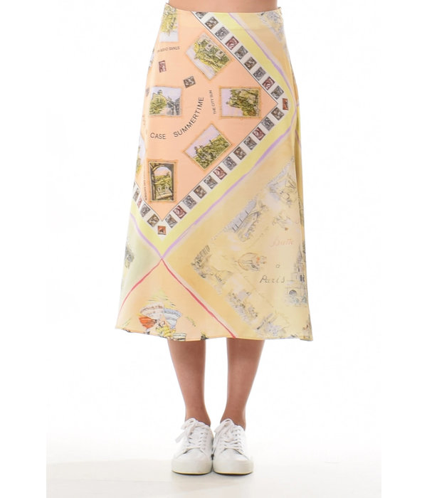 Just In Case June skirt Europe print