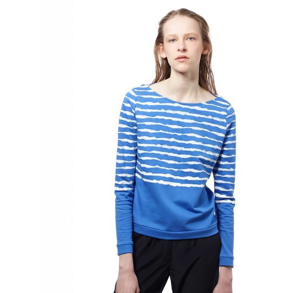 ARI ZEBR Blue Water Sweatshirt-sweater: S & L