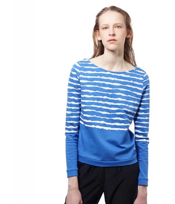 ARI ZEBR Blue Water Sweatshirt: S & L