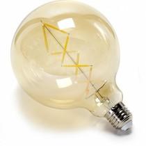 Un Esprit en Plus Flexible lamp fabric cable Black & wood