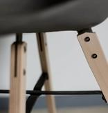 Lyon Béton Hauteville stoel beton - hout