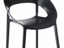 J-Line Chair Lola Black s/2