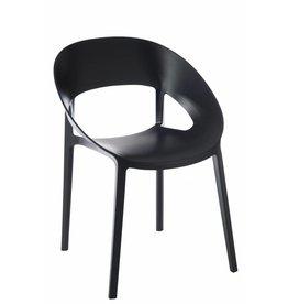 J-Line Chair Lola Black s/2