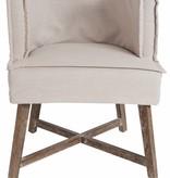 J-Line Chair La Croix white