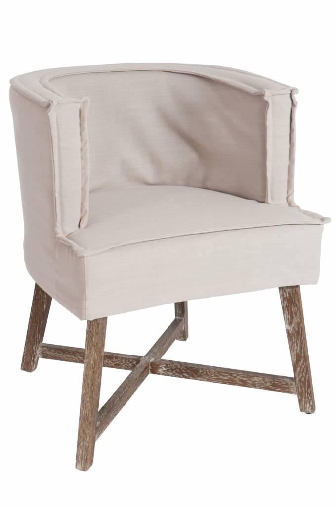 J-Line Chair La Croix Jeansblue