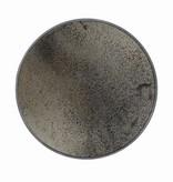 Notre monde Large Round Aged Mirror - Bronze