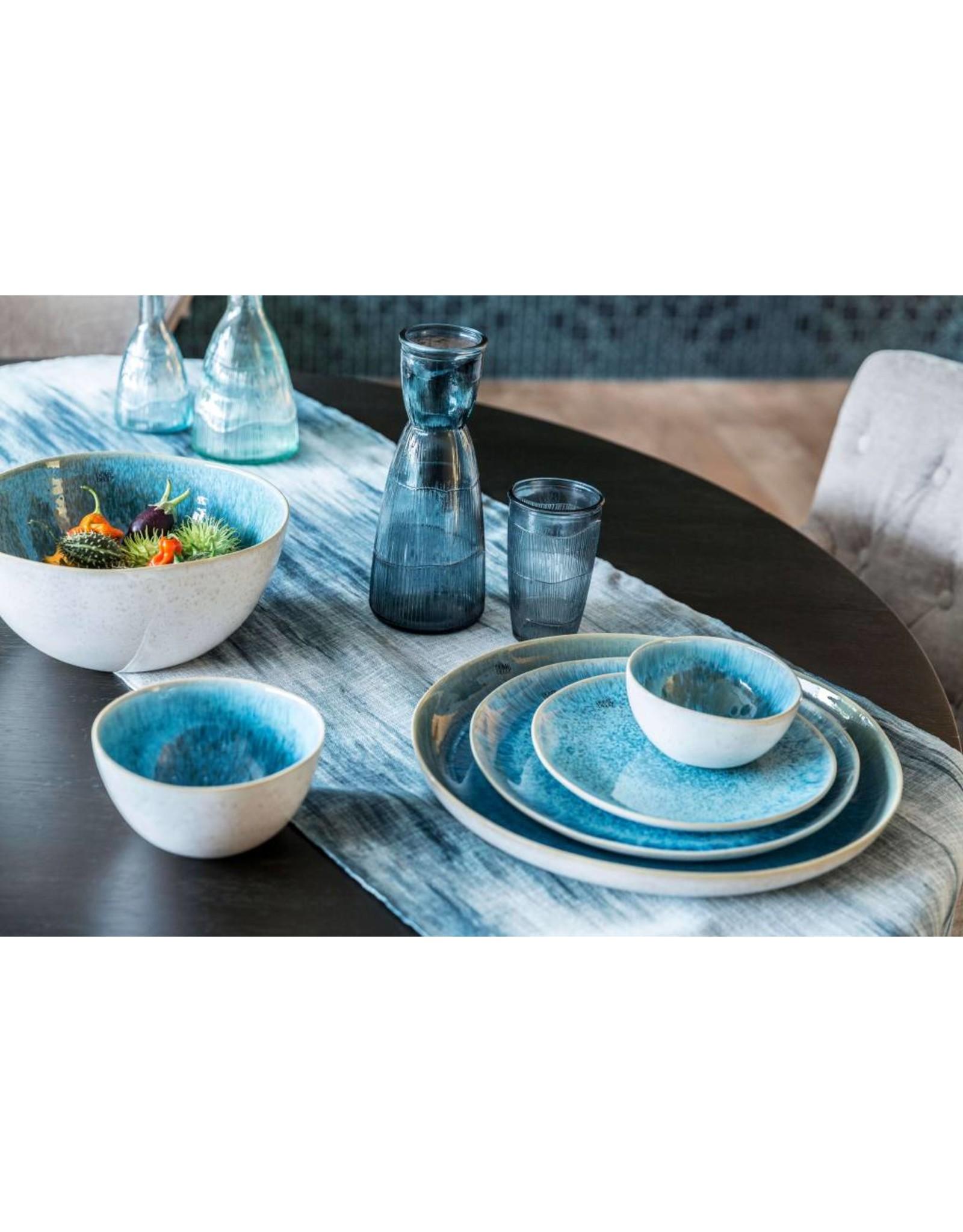 Dome Deco Kom soep of ontbijt turquoise
