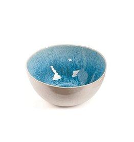 Dome Deco Kom soep/ontbijt turquoise