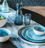 Dome Deco Turquoise Salad bowl