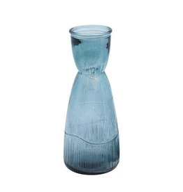 Dome Deco Water decanter glass blue