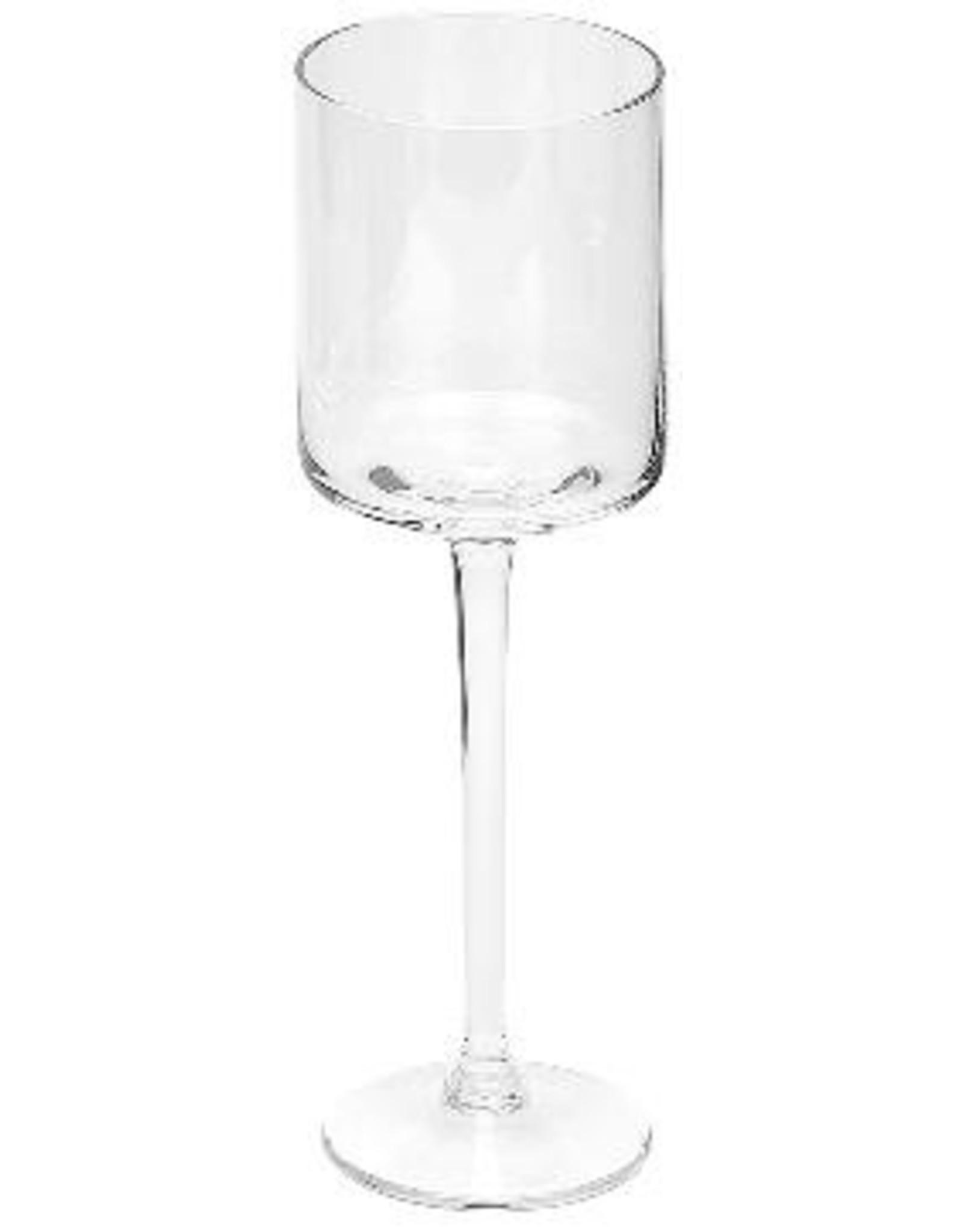 Dome Deco Rode wijnglas - set van 6