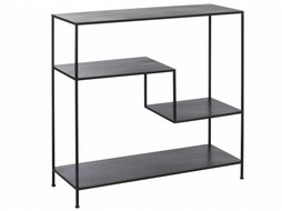 J-Line Metal shelf unit