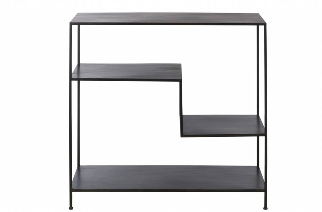 J-Line Metal design shelf unit