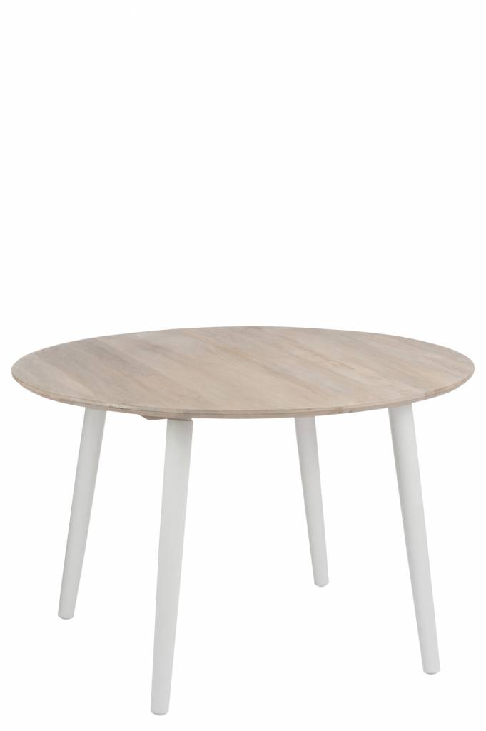 J-Line Dining table Round - white