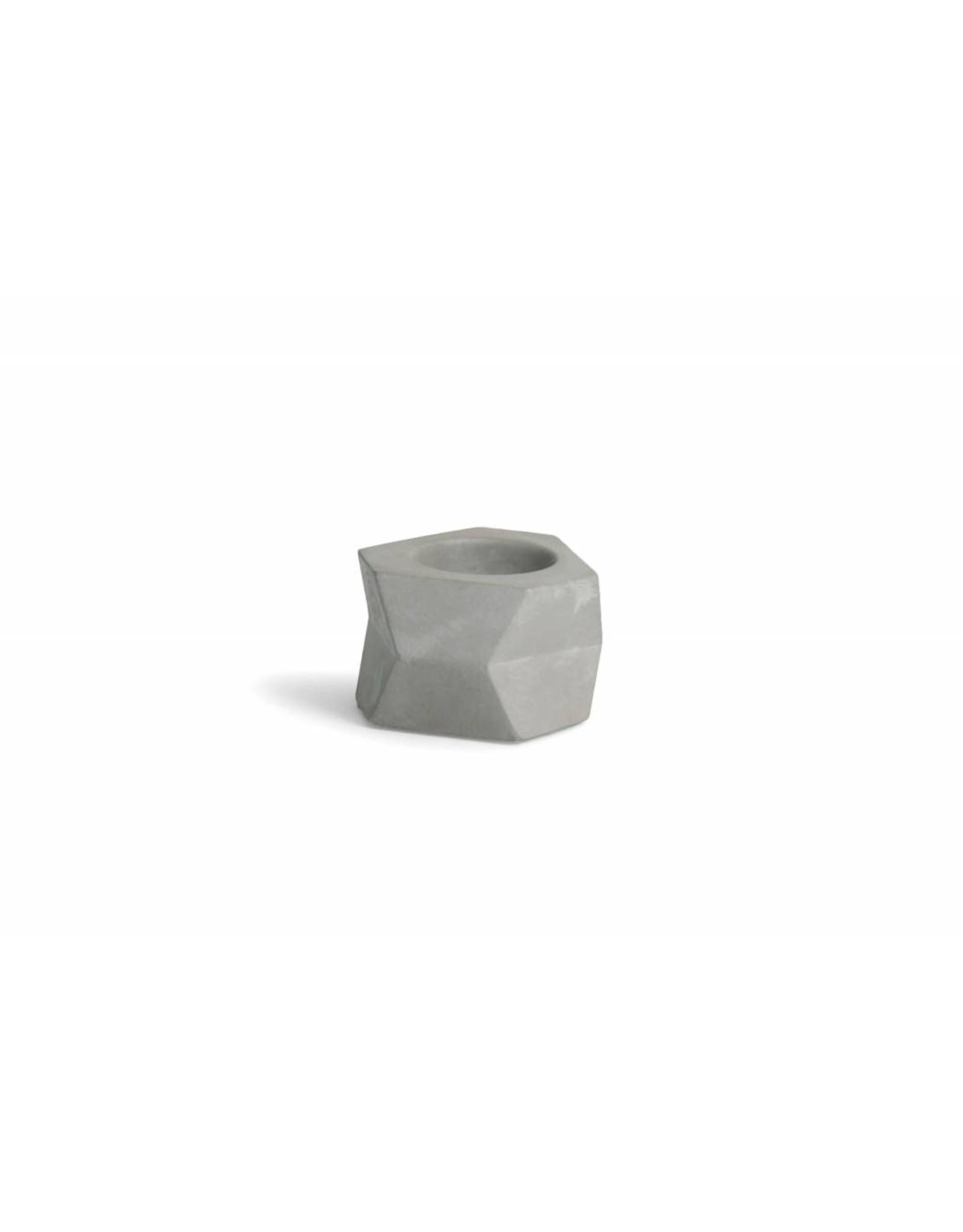 Atelier Pierre Facet T-light licht grijs beton
